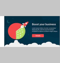 website header design vector image