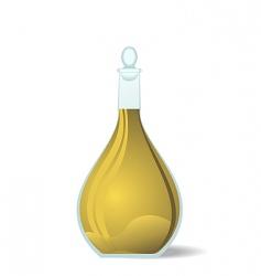 wine decanter vector image