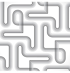 abstract line design background vector image