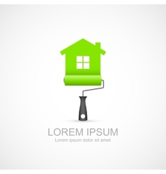 House renovation icon vector image