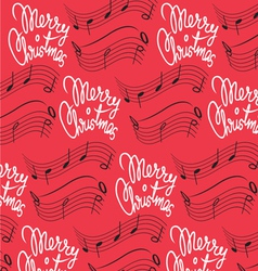 Merry Christmas song background vector