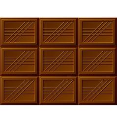 Seamless chocolate bars vector