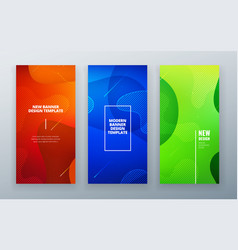 vertical stories sale banner background for social vector image