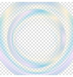 Colorful abstract transparent circle background vector