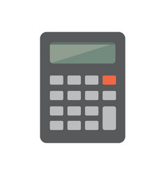 flat calculator or icon vector image