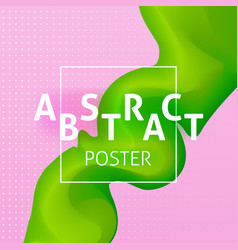 abstract colorful poster concept vector image