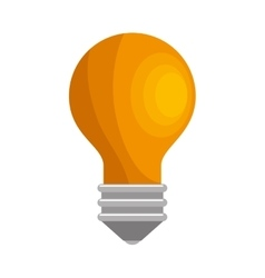 bulb idea activity creative icon design vector image
