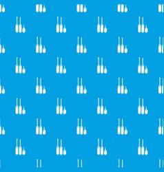 screwdriver pattern seamless blue vector image