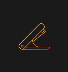Stapler gradient icon for dark theme vector