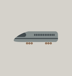 Stylish icon in flat style travel airplane vector