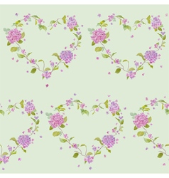 Vintage Floral Lilac Background vector
