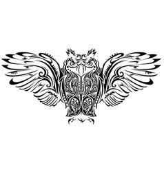 Stylised animal vector image vector image