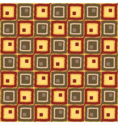 linked squares vector image vector image
