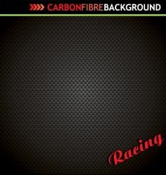 carbon fibre background vector image