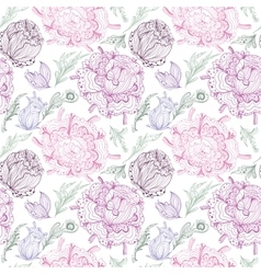 Romantic Provence Pattern vector image vector image