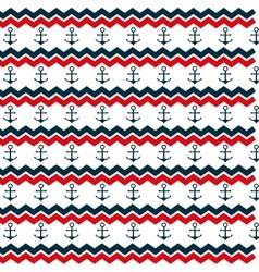 anchor marine symbol pattern icon vector image