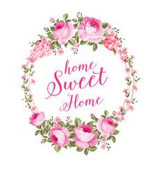 blossom invitation card vector image