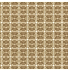 brown circle mix pattern stock vector image