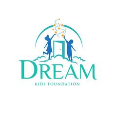 Child dream logo designs for education service vector