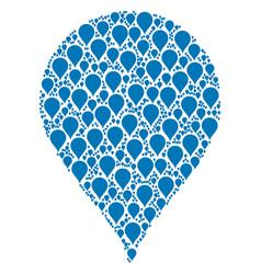 drop icon figure vector image