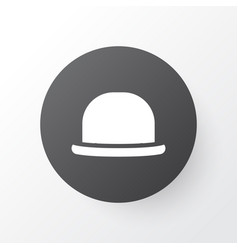 Fedora icon symbol premium quality isolated vector