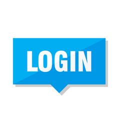 login price tag vector image