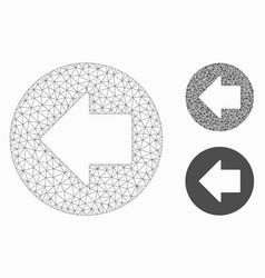 Previous arrow mesh network model and vector