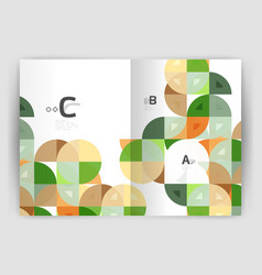 print template modern elegant background triangle vector image