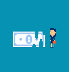 Recession money concept business finance vector