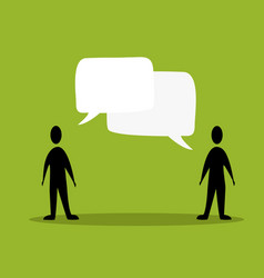 talk people concept vector image