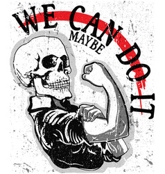 we can do it vector image