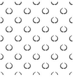 winning wreath pattern seamless vector image