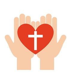 catholic religion vector image vector image