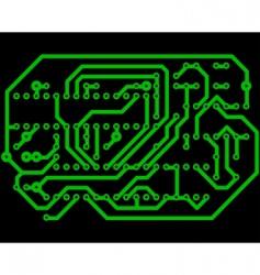 electrical scheme vector image