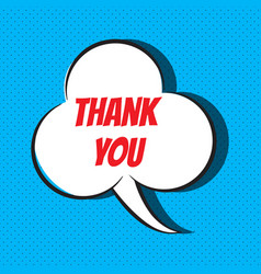 thank you quote vector image