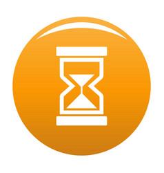 cursor loading element icon orange vector image