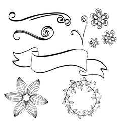 Flat about Doodle design vector