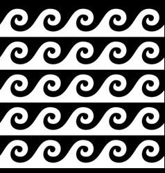 greek pattern seamless design ancient vase vector image