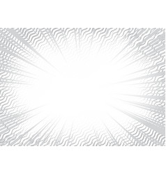 grey speed lines background vector image