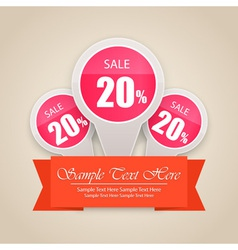 Hot Sale Tag Background vector