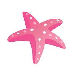 Icon starfish vector