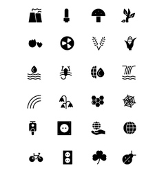 Nature and Ecology Icons 4 vector