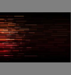 orange red overlap pixel speed abstract background vector image
