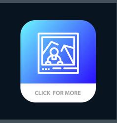 Picture image landmark photo mobile app button vector