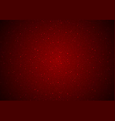 Red glittering noise background vector