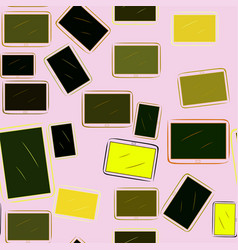 Seamless abstract handphone or mobilephone effect vector