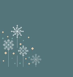 Snowalkers background vector