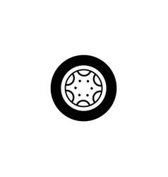 wheel logo design inspiration vector image