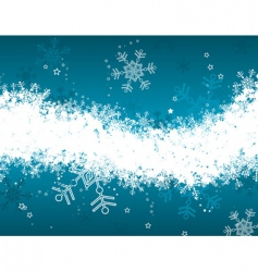 winter floral background vector vector image