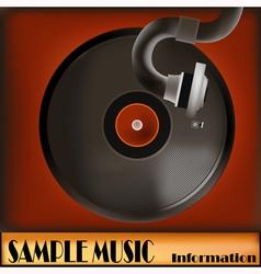 Vintage Record vector image vector image
